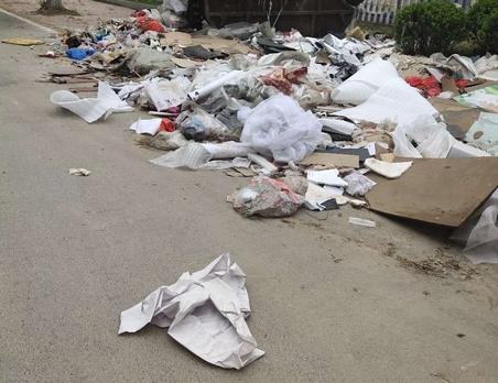 @沛县城管   台州路西头的垃圾越堆越多,已经几个月没人问了!希望相关部门处理一下!
